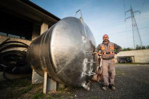 Serbatoio di accumulo acqua in acciaio inox