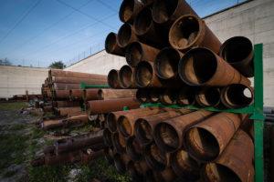 Tubi filettati per impianti di sollevamento acque